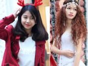 Bí quyết mặc đẹp - Thiếu nữ Hà Nội mặc gợi cảm đón Giáng sinh sớm