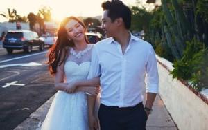Hé lộ ảnh cưới lãng mạn của Trúc Diễm