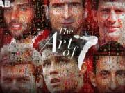 Tin bên lề bóng đá - Những tác phẩm nghệ thuật về chiếc áo số 7 của MU