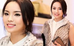 Người mẫu - Hoa hậu - Hoa hậu Kỳ Duyên bối rối mặc hàng hiệu trăm triệu