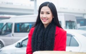 Người mẫu - Hoa hậu - Nguyễn Thị Loan rạng ngời ngày trở về Hà Nội