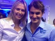"""Thể thao - Sharapova khen ngợi Federer """"cực kỳ quyến rũ"""""""