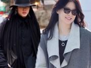 Thời trang bốn mùa - Học tín đồ thời trang Hàn mặc đẹp ngày giá rét