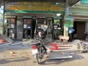 Video An ninh - Sóc Trăng: Nổ lớn ở cây xăng, 4 người bị thương