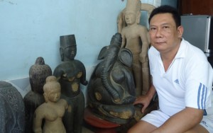 Tin tức Việt Nam - Chuyện ít biết về người say đắm cổ vật Óc Eo