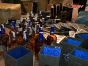 An ninh Kinh tế - Tiêu dùng - Triệt phá đường dây sản xuất, tiêu thụ rượu ngoại giả