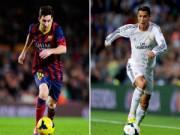 Ngôi sao bóng đá - Messi & CR7: Năm 2014 qua những con số