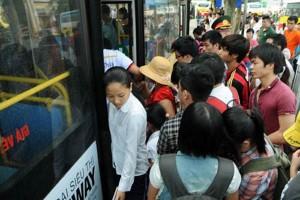 HN: Từ 5/1/2015, xe buýt dành cho phụ nữ sẽ hoạt động