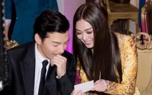 Ngôi sao điện ảnh - Trần Bảo Sơn và Khánh My lại thân mật dự tiệc