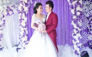 Phim - Lê Khánh hạnh phúc cùng Tuấn Khải trong tiệc cưới màu tím