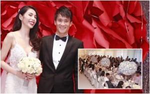 Ca nhạc - MTV - Không gian tiệc cưới 2 tỷ của Thủy Tiên và Công Vinh