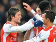 """Bóng đá Ngoại hạng Anh - West Ham - Arsenal: Hết ngày """"phát quà"""""""