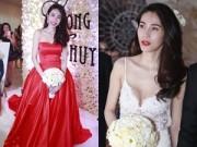 Ca nhạc - MTV - Thủy Tiên quá gợi cảm trong những bộ váy cưới đắt tiền