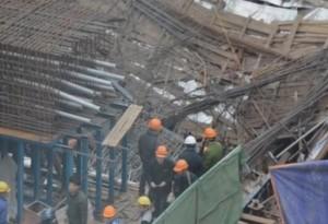 Bộ trưởng Thăng: Xử lý ngay vụ sập giáo đường sắt trên cao