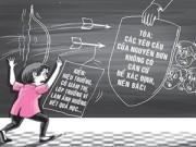 Giáo dục - du học - SV kiện lớp trưởng, cô giáo và hiệu trưởng