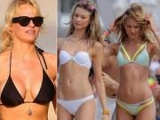"""Thời trang - Người đẹp Hollywood gợi cảm mặc đồ bơi đi """"trốn rét"""""""