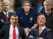 """Bóng đá Ngoại hạng Anh - Premier League & số phận của những HLV """"Big 5"""""""