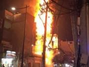Bản tin 113 - TP.HCM: 8 căn nhà cháy trơ khung sắt