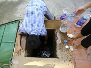 Tin tức trong ngày - Vỡ đường ống Sông Đà: BV phải mua nước để mổ cấp cứu