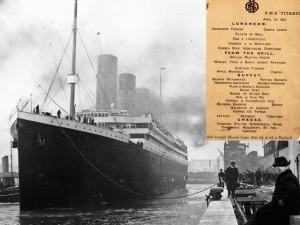 Tin tức trong ngày - Bí ẩn đằng sau thực đơn cuối cùng trên tàu Titanic giá 2 tỷ