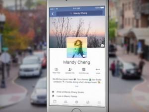 Công nghệ thông tin - Facebook đang thử nghiệm ảnh đại diện... động