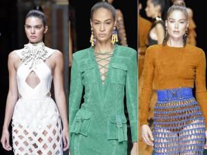 Thời trang - Dàn siêu mẫu đình đám thế giới quy tụ tại Balmain