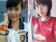 """Arsenal - MU: Tú Linh,  crying girl """"  hâm nóng đại chiến"""