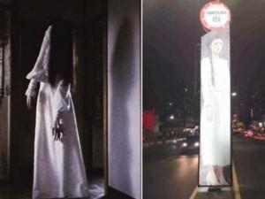 """Thế giới - Tài xế TQ phát hoảng vì """"ma nữ tóc dài"""" đứng trấn giữa đường"""