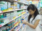 Thị trường - Tiêu dùng - Giá sữa giảm 0,1%-34%