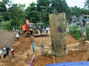 HN đề xuất xây đường ống nước khẩn cấp 864 tỉ đồng