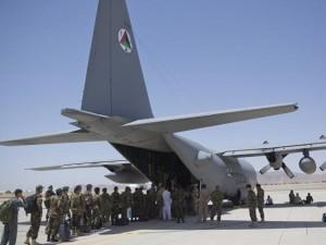 Máy bay vận tải Mỹ rơi ở Afghanistan, 12 người chết