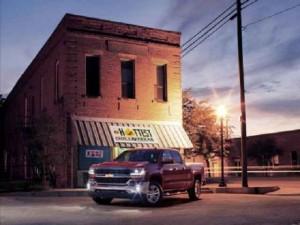 Cận cảnh mẫu xe pick-up Chevrolet Silverado 2016