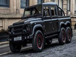 Hãng độ xe ra mắt Land Rover Defender pick-up 6 bánh