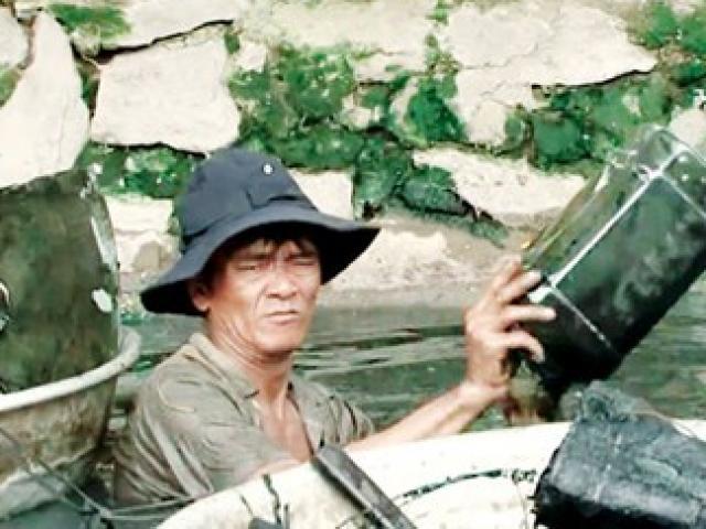 Chùm ảnh: Cụ bà 60 tuổi vẫn phải kiếm sống trên ngọn dừa - 10