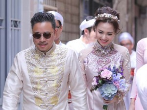 Đinh Ngọc Diệp và Victor Vũ bí mật đính hôn