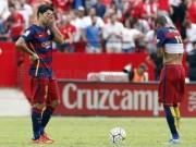 """Bóng đá - Không Messi, Barca đang """"chìm nghỉm"""""""
