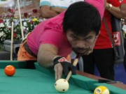 """Thể thao - Cao thủ bi-a """"ngả mũ"""" vì cú đi cơ của Pacquiao"""