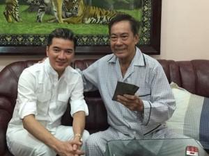 Mr. Đàm trao 100 triệu cho nhạc sỹ Tô Thanh Tùng