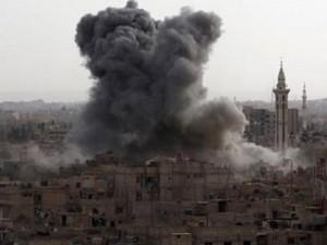 Thế giới - Nga công bố video không kích IS ở Syria