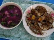 Ẩm thực - Cá nâu muối sả ớt chiên, món ngon quê đất Mũi