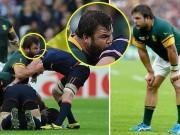 Thể thao - Sốc: SAO rugby cắn người như Suarez