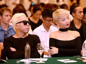 Tóc Tiên, Hoàng Touliver gây chú ý với màu tóc giống nhau