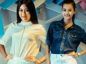 """Người đẹp Hoàn vũ Việt """"trình làng"""" ở tuần thời trang"""