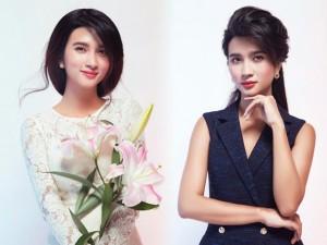 Kim Tuyến gây ám ảnh khi diện váy áo công sở