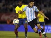 Bóng đá - Chi tiết Argentina - Ecuador: Bộ mặt đáng thất vọng (KT)