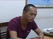 Video An ninh - Giận vợ, chồng rút dao đâm con đẻ