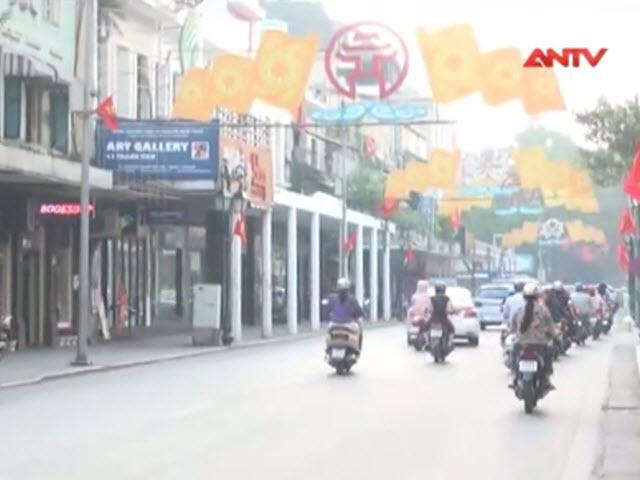 Hà Nội rực rỡ cờ hoa chào mừng 61 năm giải phóng Thủ đô