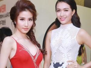 Người mẫu - Hoa hậu - Á hậu Lệ Hằng đọ nhan sắc bên Diễm My 9x