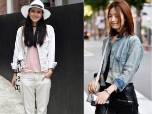 Bí quyết mặc đẹp - Áo khoác denim: Vật bất ly thân ngày se lạnh