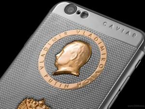 Dế sắp ra lò - Độc đáo vỏ iPhone 6s chạm hình tổng thống Putin